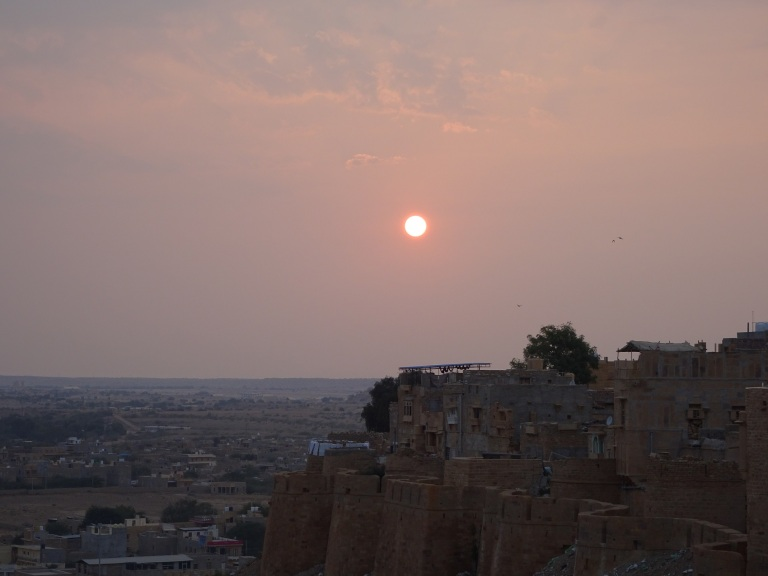 jaisalmer-fort-sunset