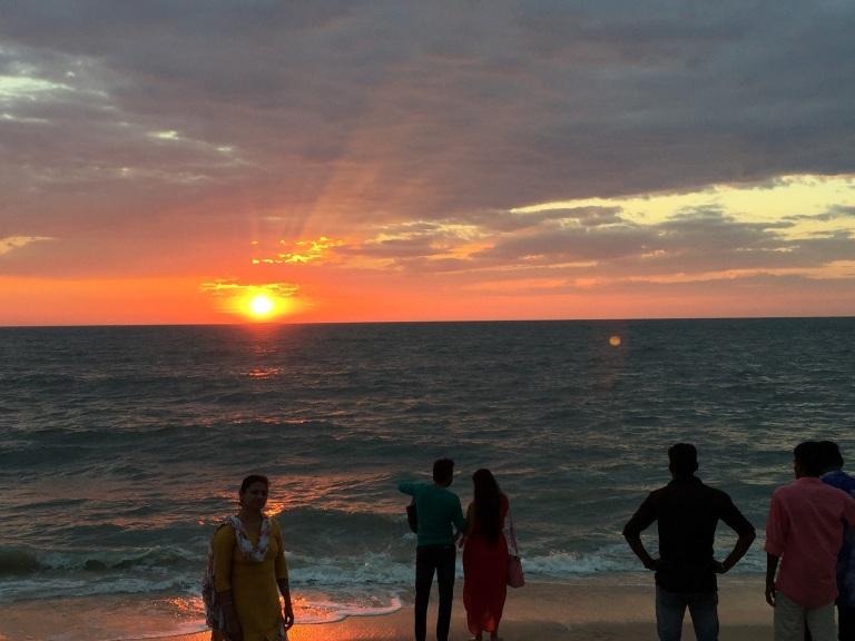 beach-allepey-sunset