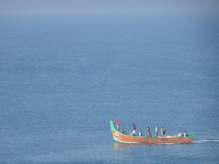 fishermen boat varkala