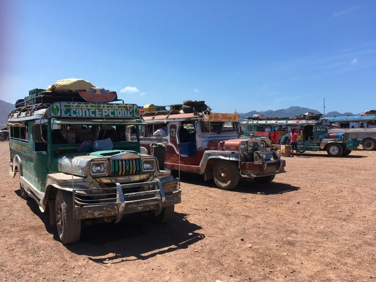 jeepney coron town