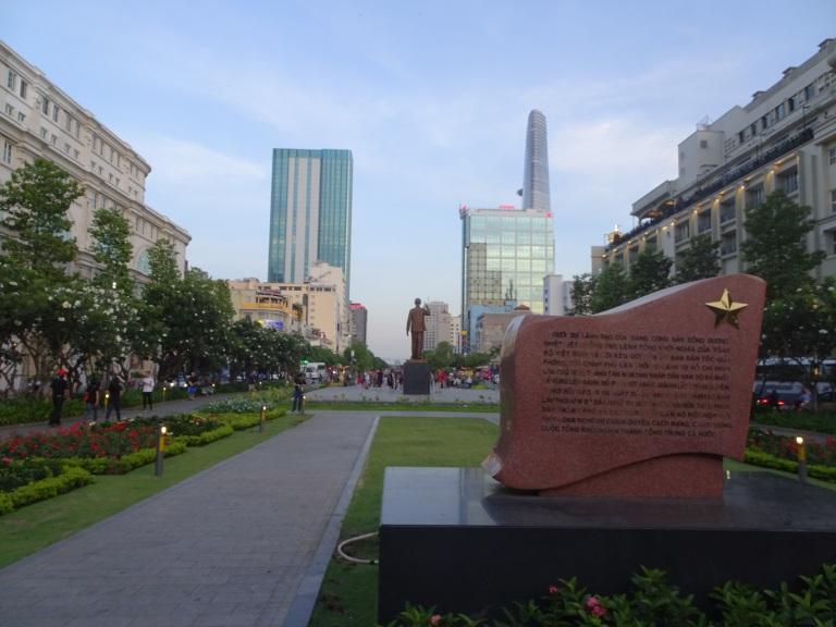 HCM statue
